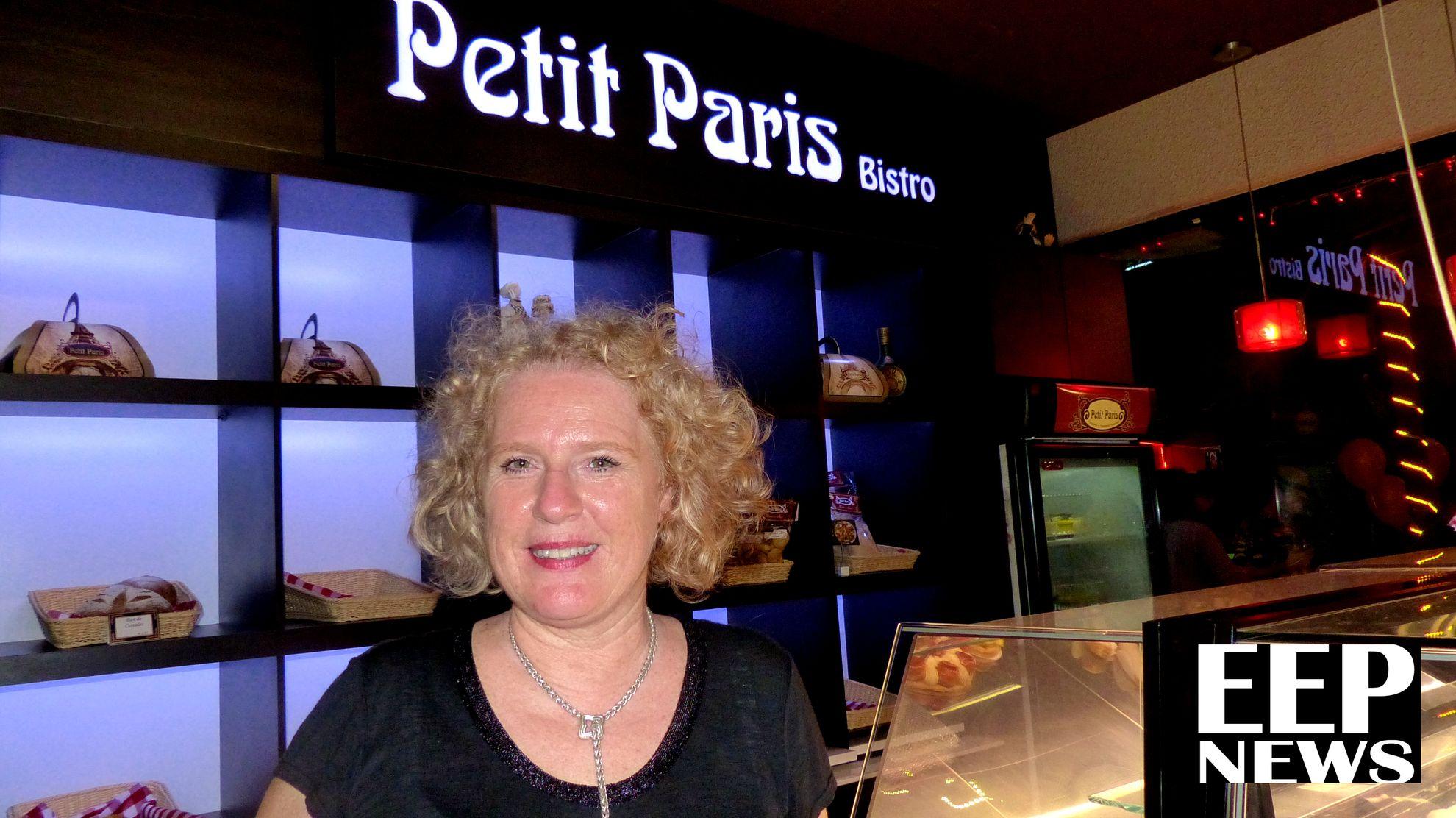 Dra. Muriel Rossignol, propietaria de Petit Paris Bistro