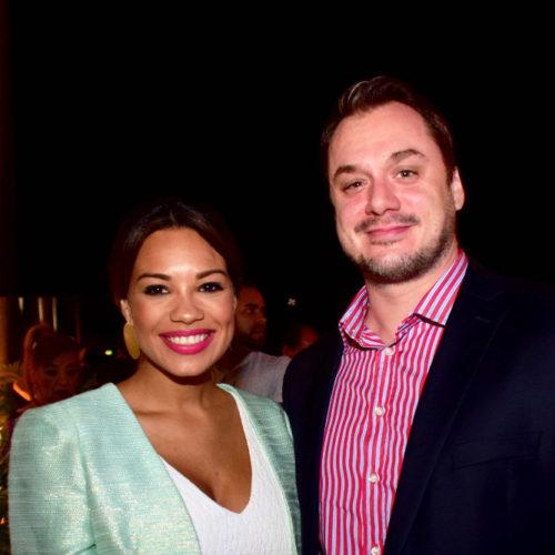 Nicole Ferguson y Simon Trevisan