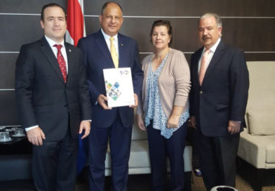 Presidente de Costa Rica, Luis Guillermo Solís, confirma su participación a EXPOCOMER 2018