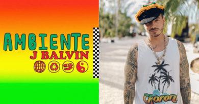 """LLEGA """"AMBIENTE"""", EL NUEVO TEMA DE J BALVIN"""