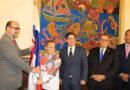 Cención recibió la bandera panameña para Centroamericanos y del Caribe