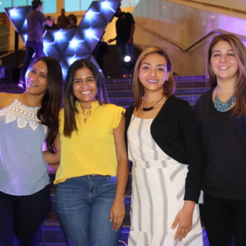 Denise Castillo, Megan Murillo, Ivis Ramos, Cynthia Pineda
