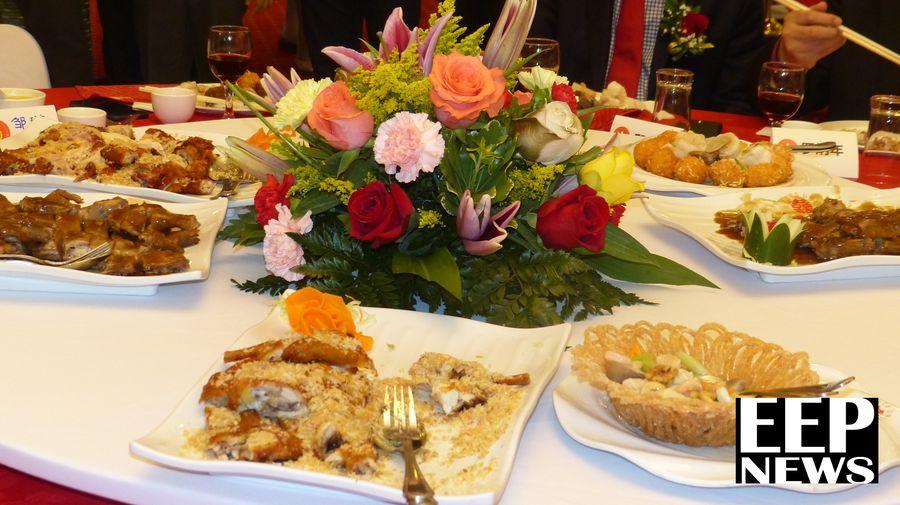 Algunos de los platillos tradicionales de un Banquete