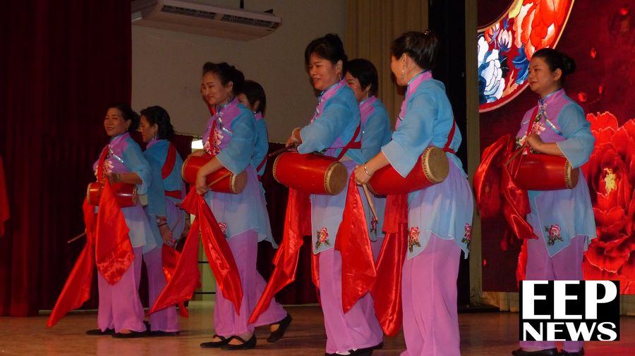 Coreografia durante la celebración del Primer Año de relaciones entre Panamá y China