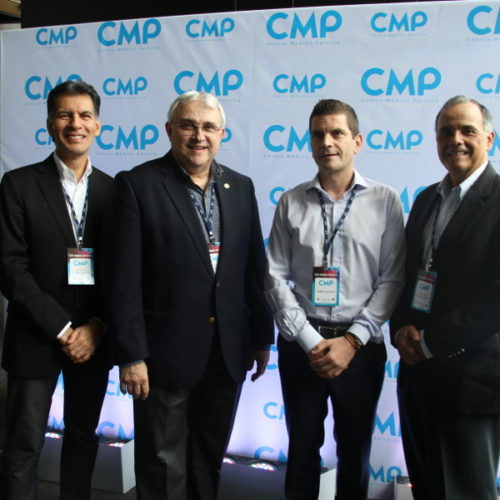 Dr. Walter Valverde, Dr. Daniel Pichel, Lic. Francisco Ripoll y Dr. Ramon Crespo