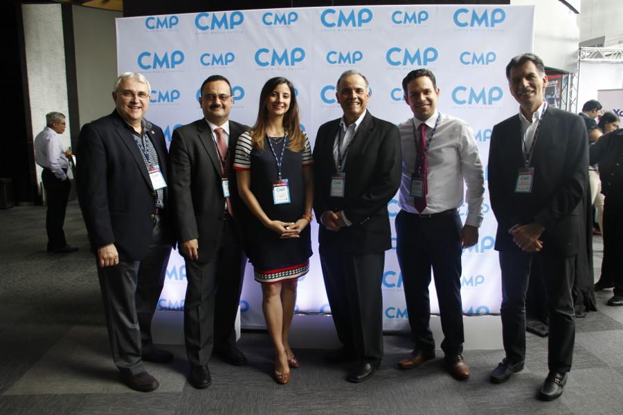 Expositores de Pre Jornada Dr. Daniel Pichel, Dr. Carlos Montufar, Dra. Jolie Anna Crespo, Dr. Ramon Crespo, Dr. Rainier Rodriguez y Dr. Walter Valverde