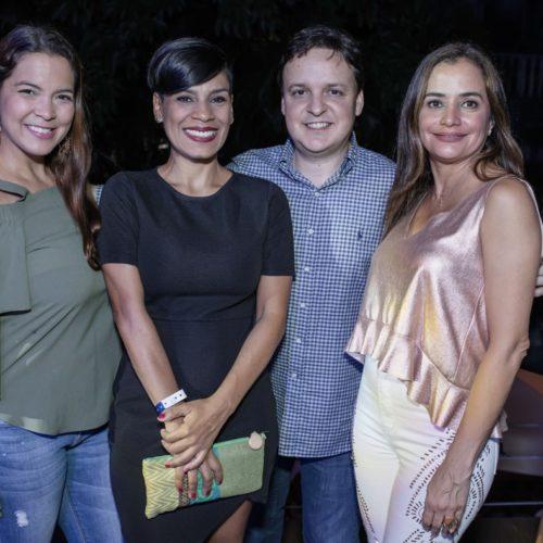 Nicole Peterhans, Mónica Ramirez, Gustavo Álvarez, Lorraine Urdaz
