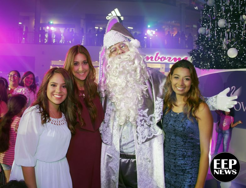 Ariadne Rivera, Jaravy Rosales, Santa Claus, Keidy Cáceres-min