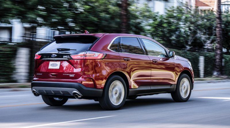 Llega Ford EDGE 2019 con Nuevo Diseño Deportivo y Conjunto de Tecnologías de Seguridad CO-PILOT360TM