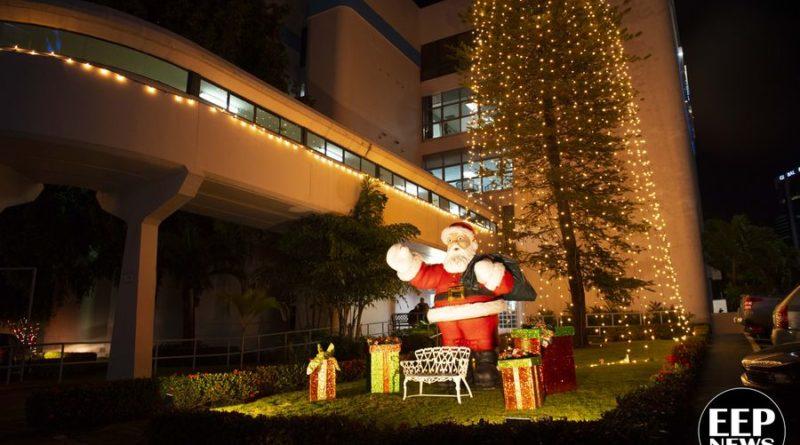 Centro Médico Paitilla inicia la navidad con su tradicional encendida de árbol