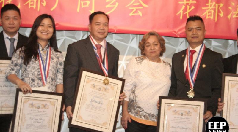 Ceremonia entrega de Reconocimientos y Medalla Victoriano Lorenzo a Comunidad China