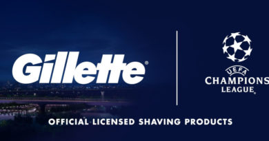 GILLETTE Anuncia alianza de uso de Licencia con la UEFA Champions League