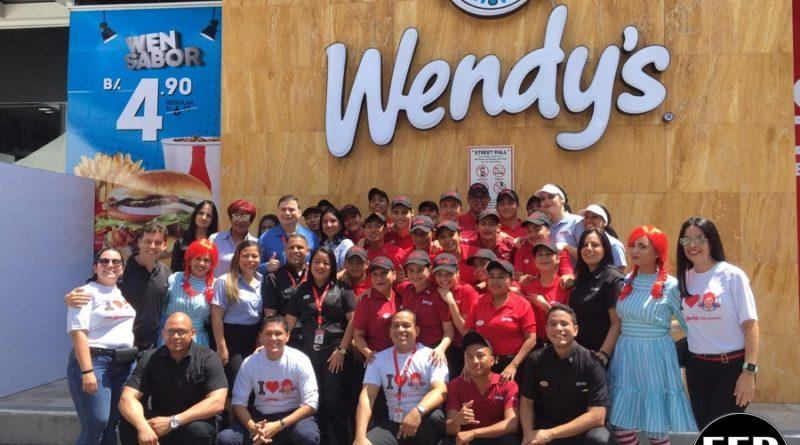 WENDY'S CELEBRA 50 AÑOS CON LA APERTURA DE SU NUEVO RESTAURANTE EN CIUDAD DE PANAMÁ