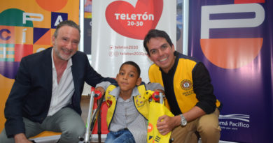 Panamá Pacífico y Teletón 20-30 firman convenio de patrocinio