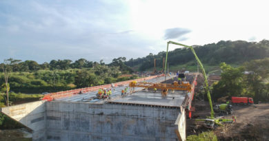 Intercambiador de Panamá Pacífico registra 74% de avance