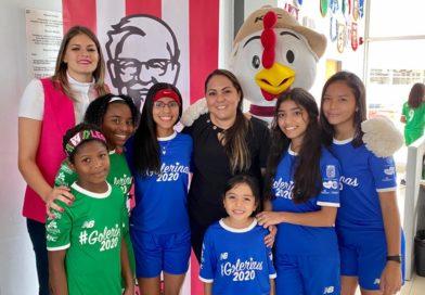 KFC PARTICIPA DE LA CORONA #GOLERINAS 2020